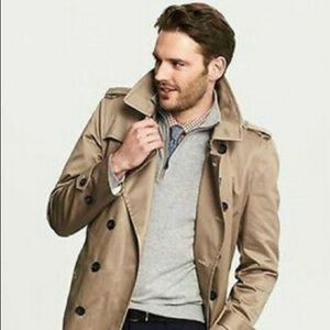 Banana Republic Trench Double Breasted Jacket.